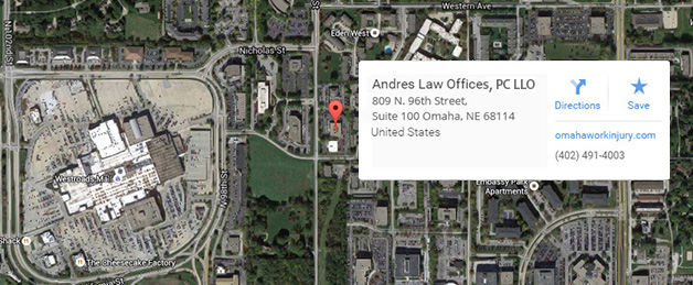 Andres Law Offices, PC LLO , 809 N. 96th Street, Suite 100, Omaha, NE 68114, United States